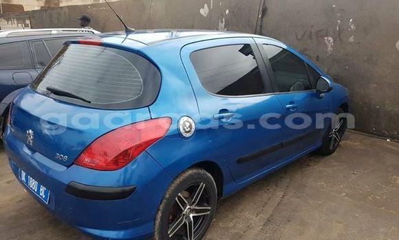 Acheter Occasions Voiture Peugeot 308 Bleu à Dakar au Dakar