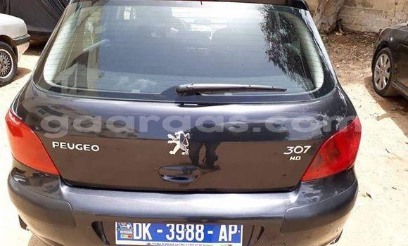 Acheter Occasions Voiture Peugeot 307 Noir à Dakar au Dakar