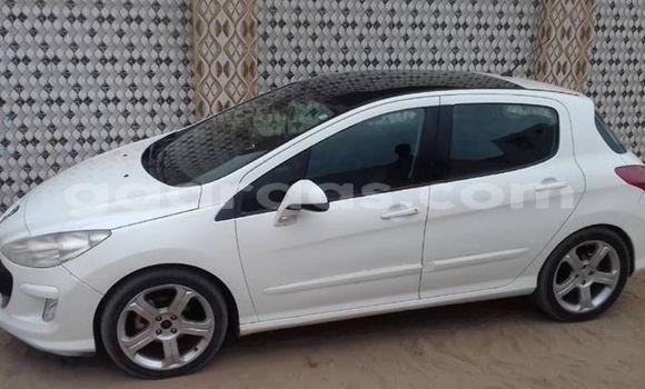 Acheter Occasions Voiture Peugeot 308 Blanc à Dakar au Dakar
