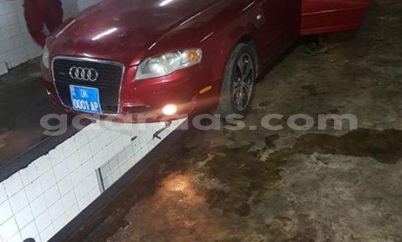 Acheter Occasion Voiture Audi A4 Rouge à Dakar, Dakar