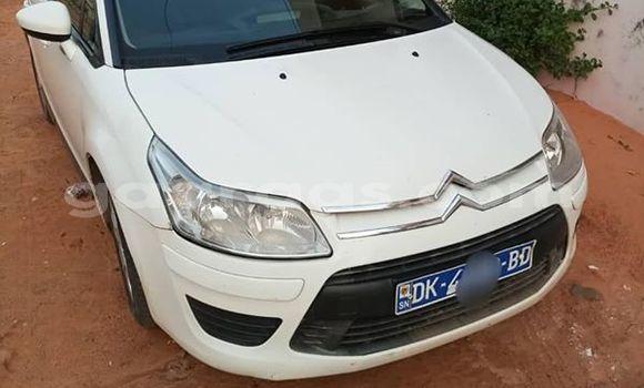 Acheter Occasion Voiture Citroen C4 Blanc à Dakar, Dakar