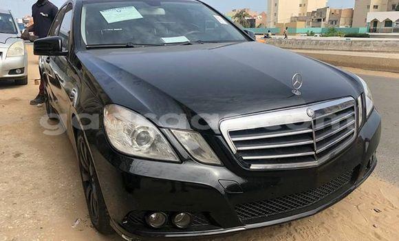 Acheter Occasion Voiture Mercedes Benz E–Class Noir à Dakar, Dakar