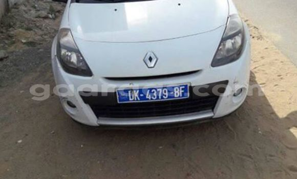 Acheter Occasion Voiture Renault Clio Blanc à Dakar, Dakar