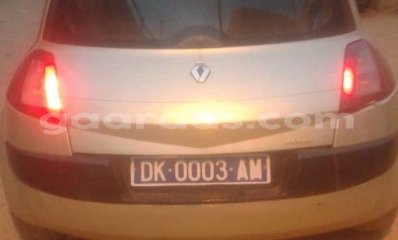 Acheter Occasion Voiture Renault Megane Gris à Dakar, Dakar