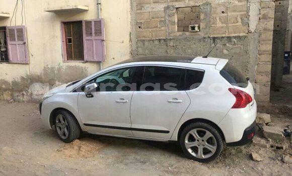 Acheter Occasion Voiture Peugeot 3008 Blanc à Dakar, Dakar