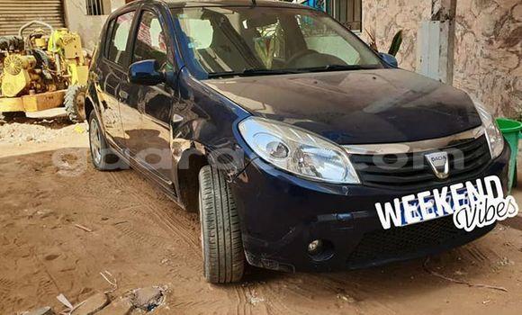 Acheter Occasion Voiture Renault Sandero Bleu à Dakar, Dakar