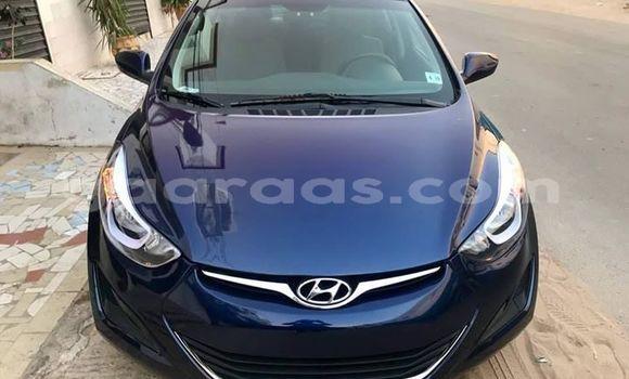 Acheter Occasion Voiture Hyundai Elantra Bleu à Dakar, Dakar