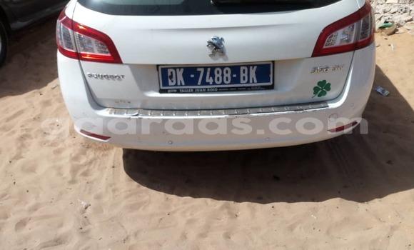 Dieundeu Occasion Peugeot 508 White Auto in Dakar in Dakar