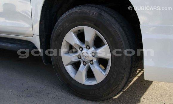 Acheter Importé Voiture Toyota Prado Blanc à Import - Dubai, Dakar