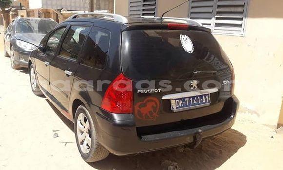 Acheter Occasion Voiture Peugeot 307 Noir à Dakar, Dakar