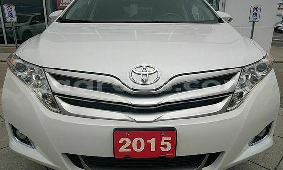 Acheter Occasion Voiture Toyota Venza Blanc à Dakar, Dakar