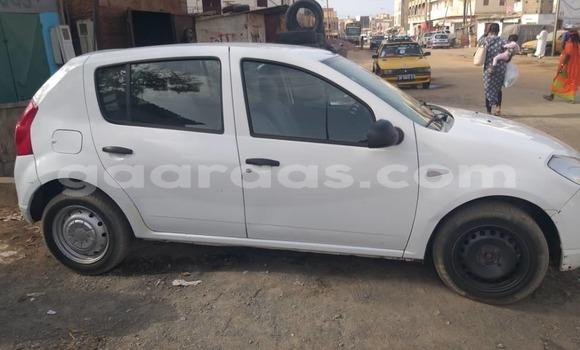 Acheter Occasion Voiture Dacia Sandero Blanc à Dakar, Dakar