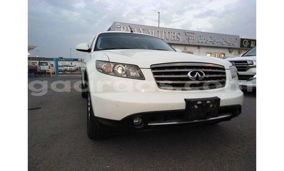 Acheter Importé Voiture Infiniti FX Blanc à Import - Dubai, Dakar