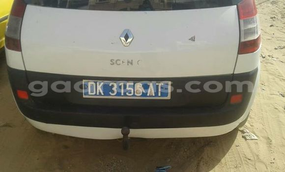 Acheter Occasion Voiture Renault Scenic Blanc à Gueule Tapee Fass Colobane au Dakar