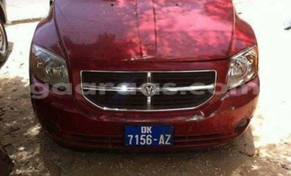 Acheter Occasion Voiture Dodge Caliber Rouge à Gueule Tapee Fass Colobane au Dakar