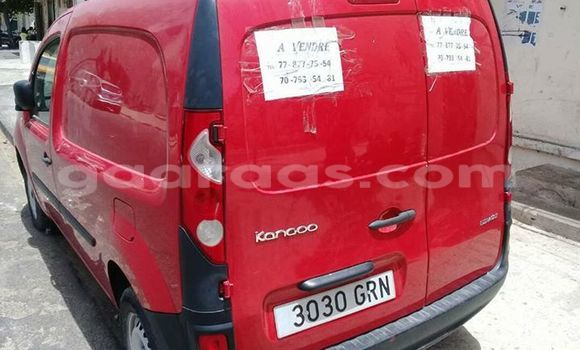 Acheter Occasion Voiture Renault Kangoo Rouge à Gueule Tapee Fass Colobane au Dakar