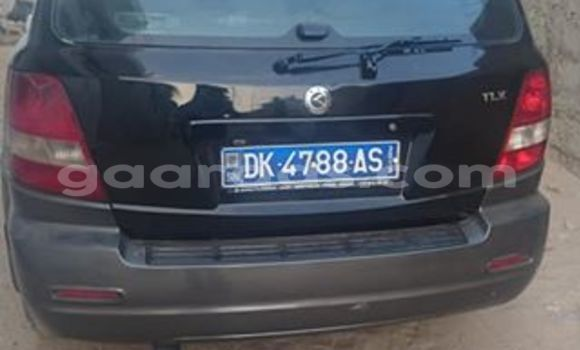 Acheter Occasion Voiture Kia Sorento Noir à Gueule Tapee Fass Colobane au Dakar