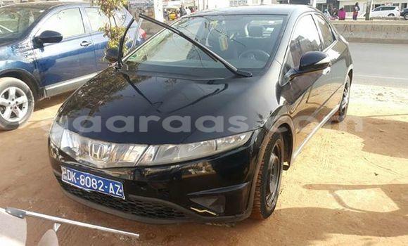 Acheter Occasion Voiture Honda Civic Noir à Gueule Tapee Fass Colobane au Dakar