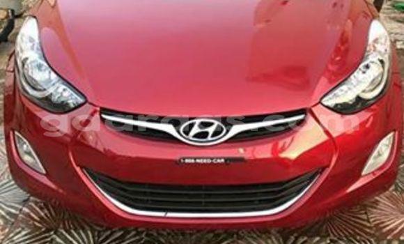 Acheter Occasion Voiture Hyundai Elantra Rouge à Gueule Tapee Fass Colobane au Dakar