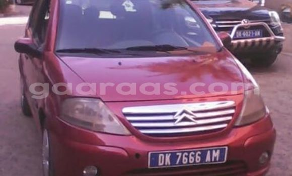 Acheter Occasion Voiture Citroen C3 Rouge à Gueule Tapee Fass Colobane au Dakar