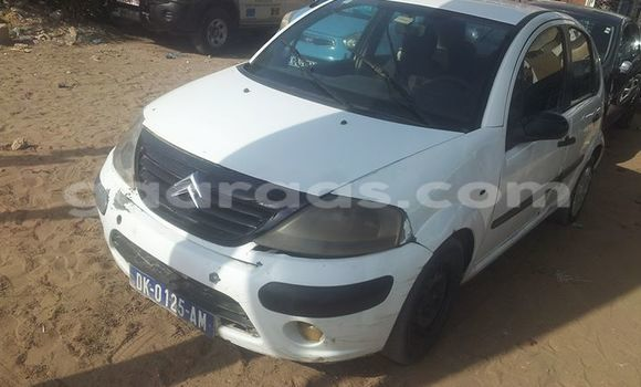 Acheter Occasion Voiture Citroen C3 Blanc à Gueule Tapee Fass Colobane au Dakar