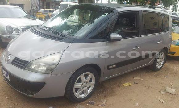 Acheter Occasion Voiture Renault Espace Gris à Gueule Tapee Fass Colobane au Dakar