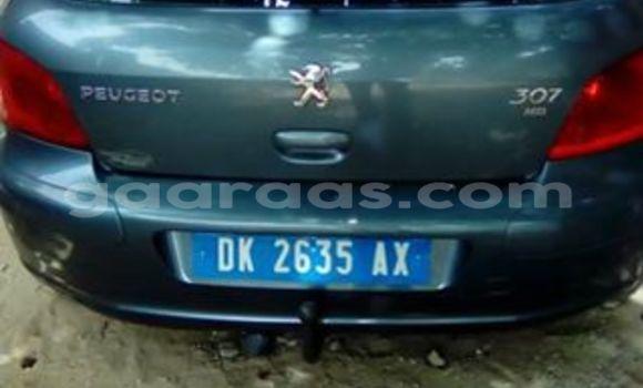 Acheter Occasion Voiture Peugeot 307 Gris à Gueule Tapee Fass Colobane au Dakar