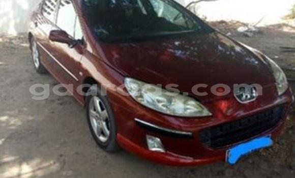 Acheter Occasion Voiture Peugeot 407 Rouge à Gueule Tapee Fass Colobane au Dakar