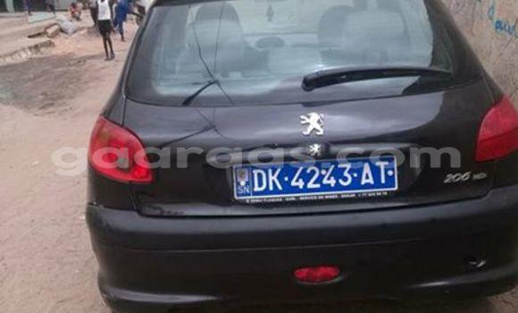 Acheter Occasion Voiture Peugeot 206 Noir à Gueule Tapee Fass Colobane au Dakar