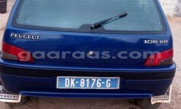 Acheter Occasion Voiture Peugeot 106 Bleu à Gueule Tapee Fass Colobane au Dakar