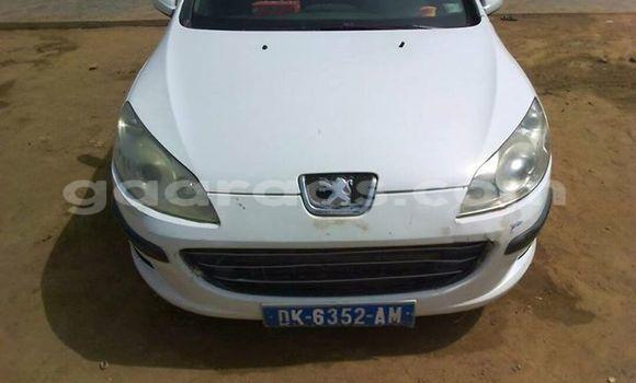 Acheter Occasion Voiture Peugeot 406 Blanc à Gueule Tapee Fass Colobane au Dakar