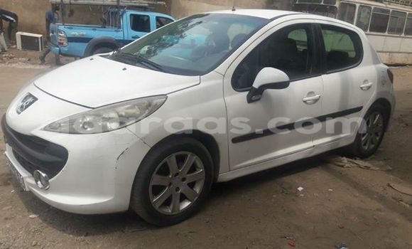 Acheter Occasion Voiture Peugeot 206 Blanc à Gueule Tapee Fass Colobane au Dakar