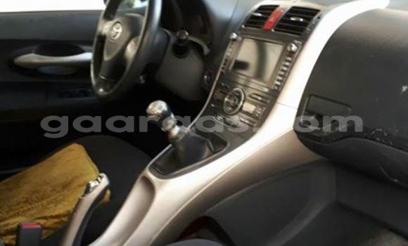 Acheter Occasion Voiture Toyota Auris Noir à Gueule Tapee Fass Colobane au Dakar