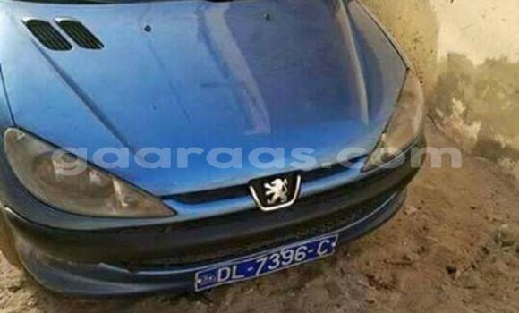 Acheter Occasion Voiture Peugeot 206 Bleu à Gueule Tapee Fass Colobane au Dakar