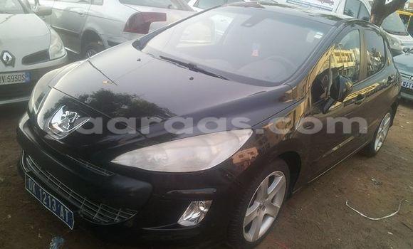Acheter Occasion Voiture Peugeot 308 Noir à Gueule Tapee Fass Colobane au Dakar