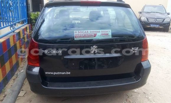 Acheter Occasion Voiture Peugeot 307 Noir à Gueule Tapee Fass Colobane au Dakar