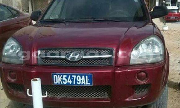 Acheter Occasion Voiture Hyundai Tucson Rouge à Gueule Tapee Fass Colobane au Dakar