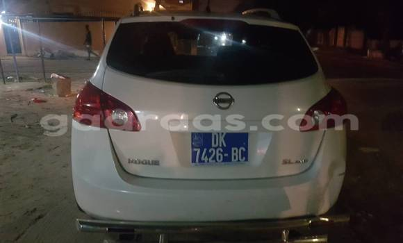Buy Used Nissan Murano White Car in Gueule Tapee Fass Colobane in Dakar