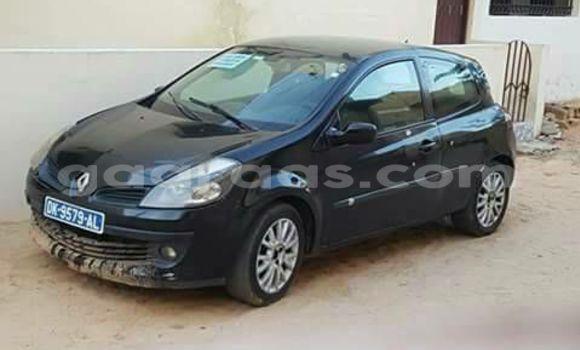 Acheter Occasion Voiture Renault Clio Noir à Gueule Tapee Fass Colobane au Dakar