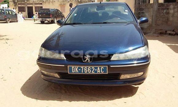 Acheter Occasion Voiture Peugeot 406 Bleu à Gueule Tapee Fass Colobane au Dakar