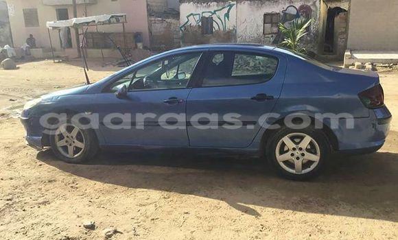 Acheter Occasion Voiture Peugeot 407 Bleu à Gueule Tapee Fass Colobane au Dakar