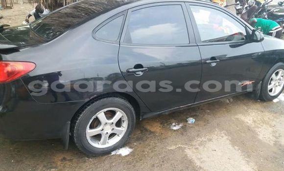Acheter Occasion Voiture Hyundai Elantra Noir à Gueule Tapee Fass Colobane au Dakar
