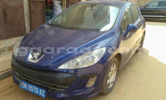 Acheter Occasion Voiture Peugeot 308 Bleu à Yoff au Dakar