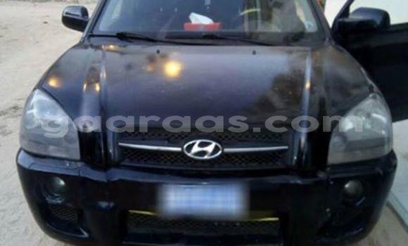 Acheter Occasion Voiture Hyundai Tucson Noir à Gueule Tapee Fass Colobane au Dakar