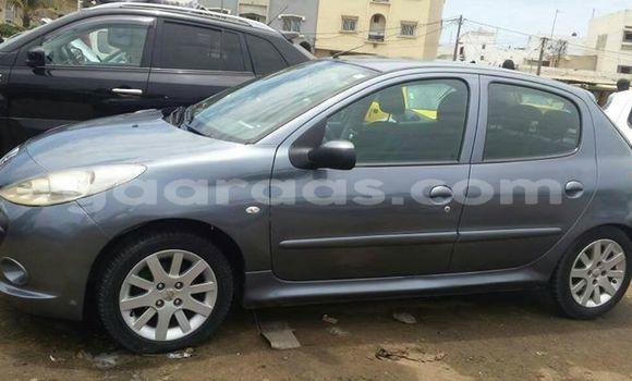 Acheter Occasion Voiture Peugeot 206 Gris à Gueule Tapee Fass Colobane au Dakar