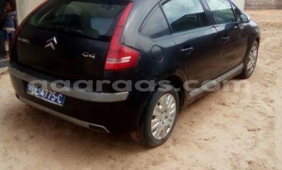Acheter Occasion Voiture Citroen C4 Noir à Gueule Tapee Fass Colobane au Dakar