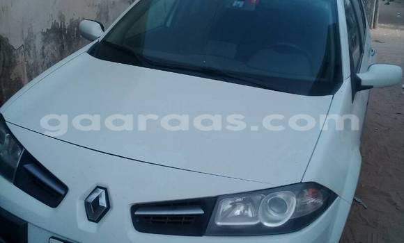 Acheter Occasion Voiture Renault Megane Blanc à Gueule Tapee Fass Colobane au Dakar