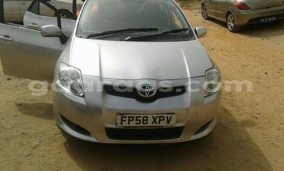 Buy Used Toyota Auris Silver Car in Gueule Tapee Fass Colobane in Dakar