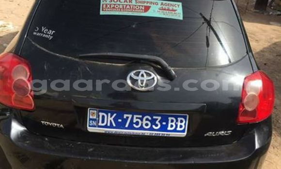 Buy Used Toyota Auris Black Car in Gueule Tapee Fass Colobane in Dakar
