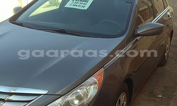 Acheter Occasion Voiture Hyundai Sonata Gris à Sam Notaire au Dakar